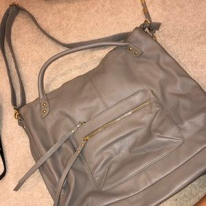 Steve Madden Tan Leather Tote/CrossBody Bag
